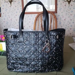 Authentic dior quilted tote bag nwot